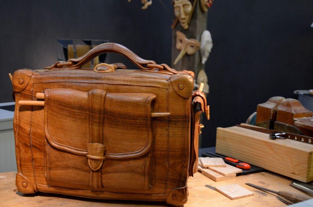 Le lycée des arts du bois présente chaque année les oeuvres réalisées par ses étudiants