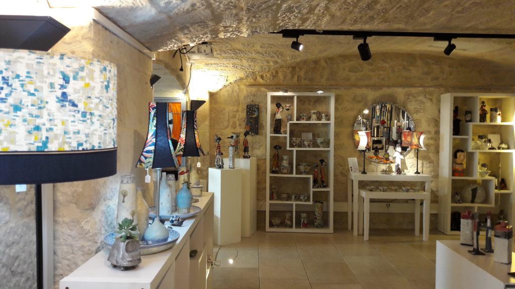 Boutique métiers d'art au 36 Quai des arts
