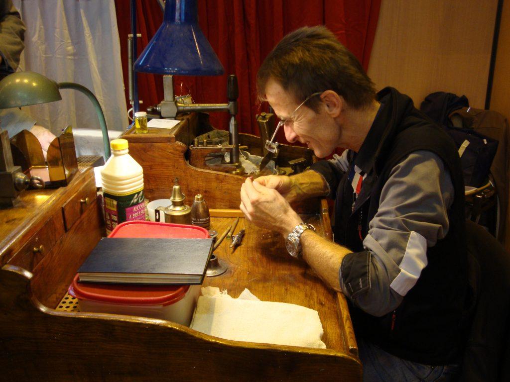 Christian Duraffourg · Lapidaire · Meilleur Ouvrier de France