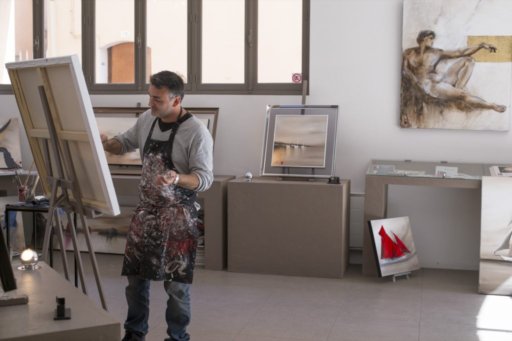 Olivier Tramoni · Artiste peintre