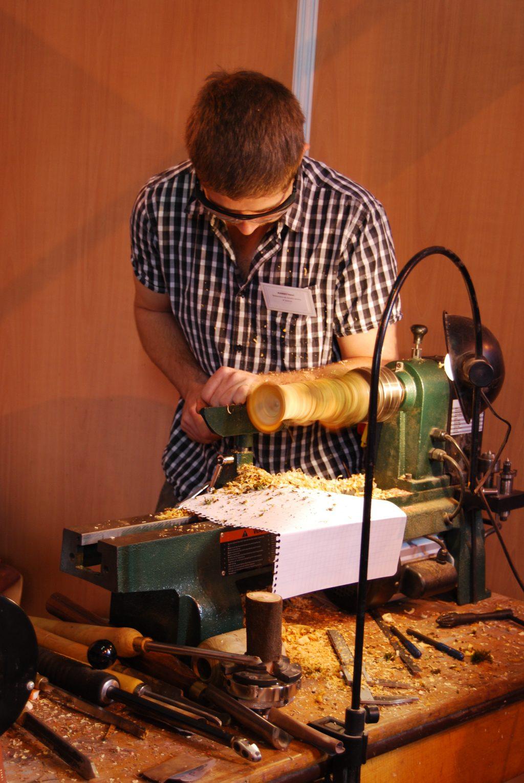 Henri Jeanney · Tourneur sur bois