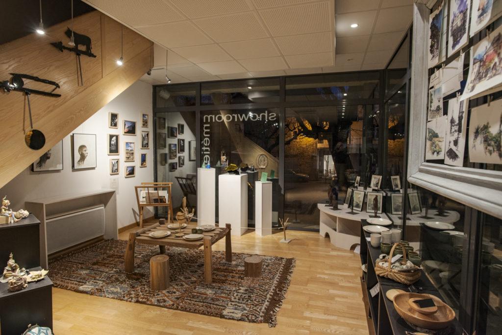 Boutique du Pôle des Métiers d'Art © Christophe Spiesser
