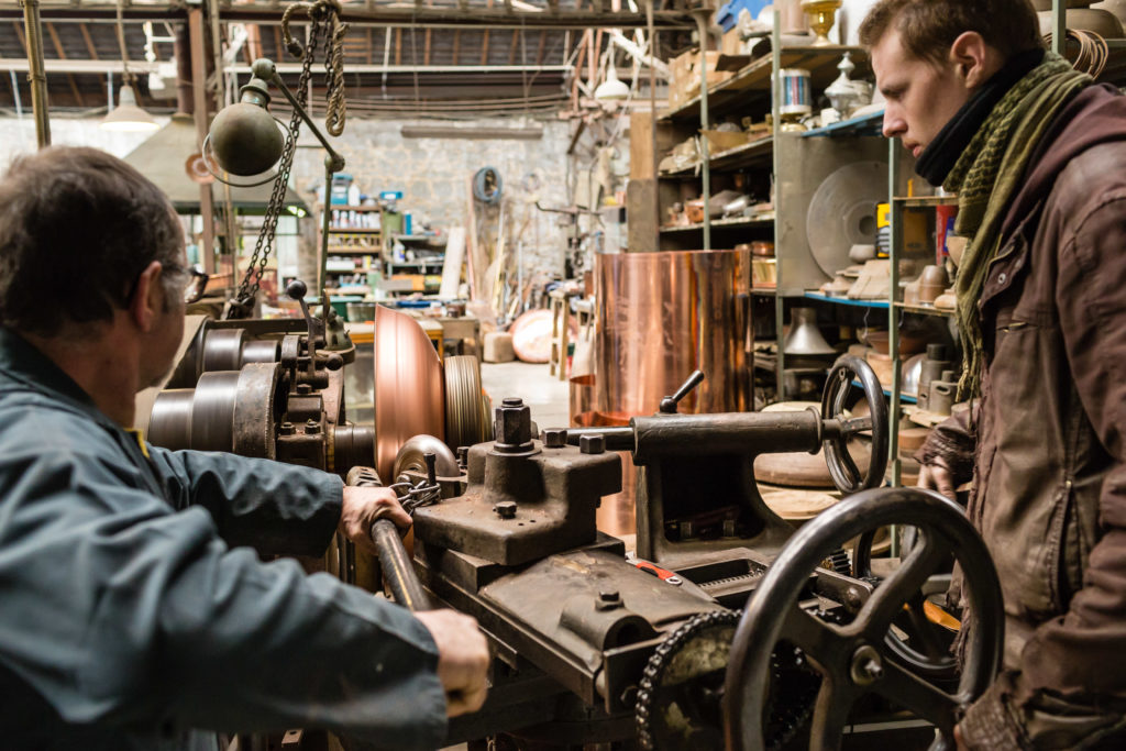Atelier du cuivre · © Thierry Houyel