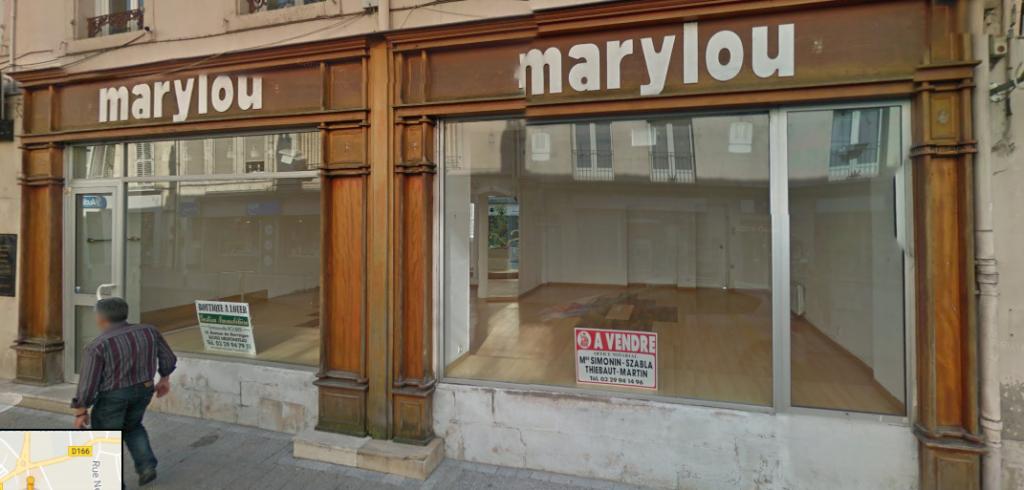 Local au 21 rue de France 88300 Neufchâteau