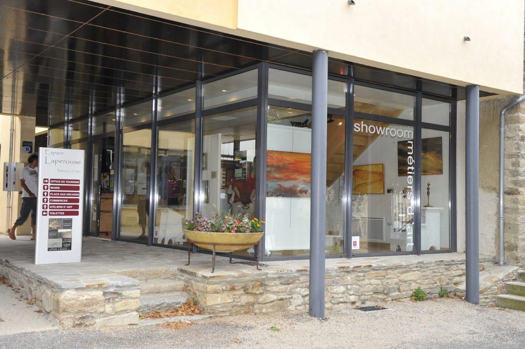 L'Office de Tourisme au cœur du pôle des métiers d'art : showroom métiers d'art Laperouse