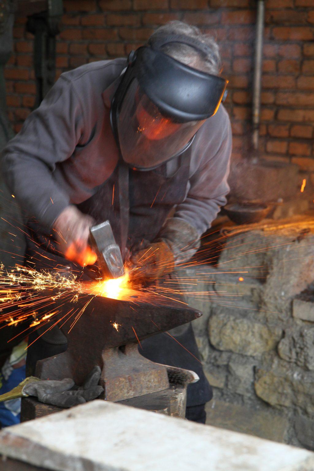 Démonstration du travail du fer