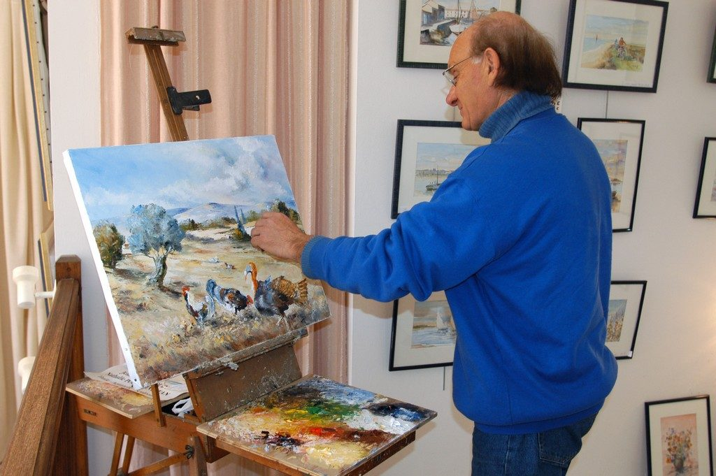 Jean-Pierre Drouin · Peintre