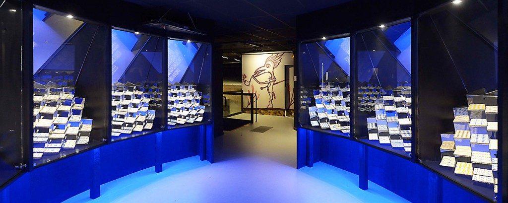 Vue intérieur du musée de la céramique