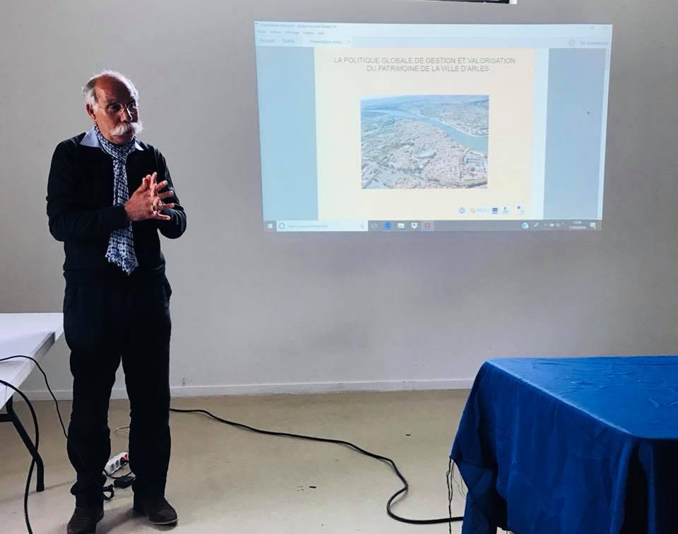Bouzid SABEG, Directeur du Patrimoine de la ville d'Arles