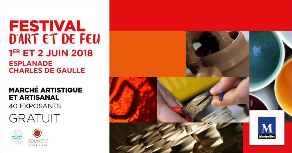 Festival d'art et de feu · Montpellier