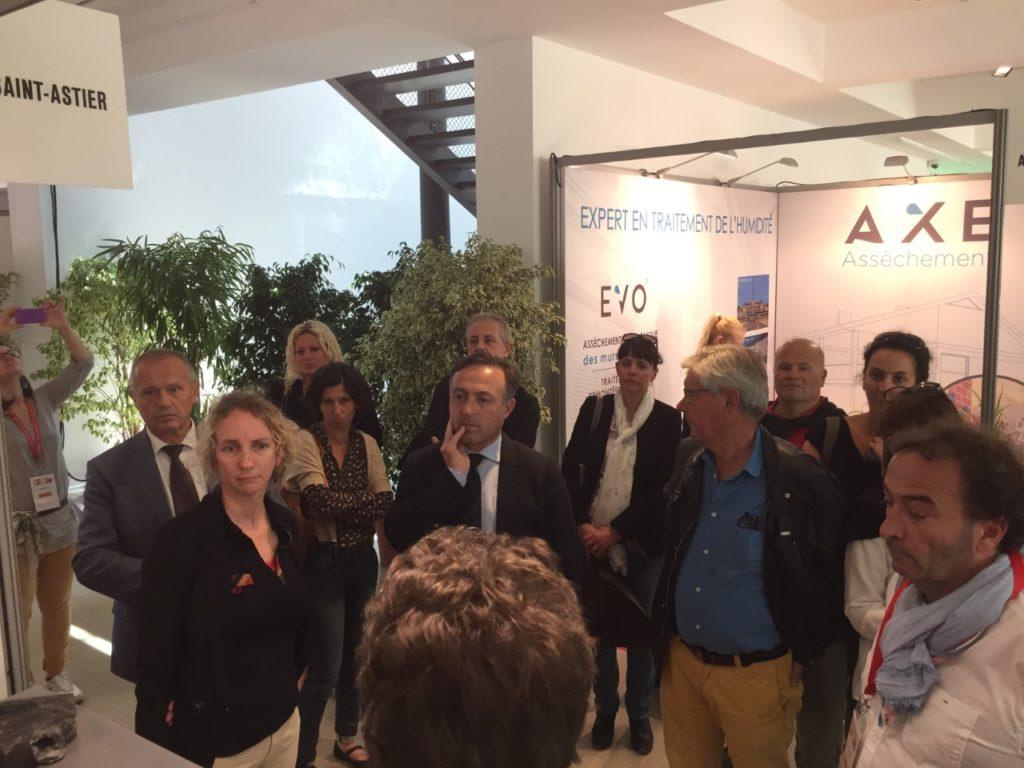 Visite du SIPPA (Symposium International des Professionnels des Patrimoines à Arles)
