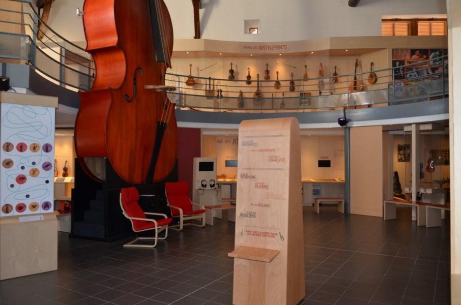 Musée de la lutherie · Mirecourt· © A.S. Trivin
