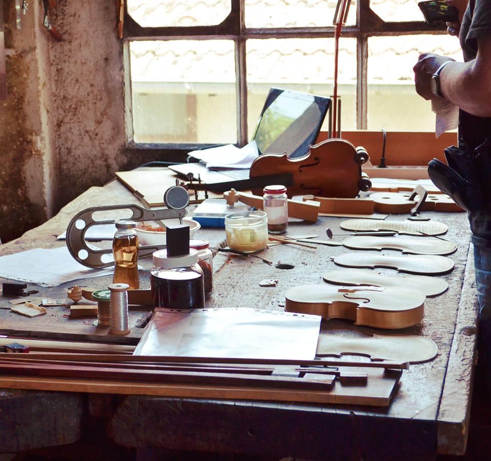 Atelier du Musée de la Lutherie ·Mirecourt
