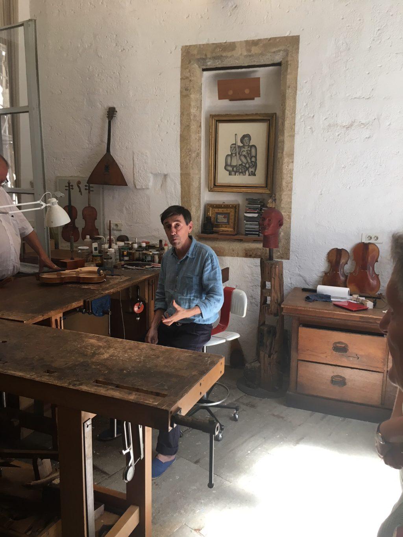 Le Luthier Frédéric Chaudière
