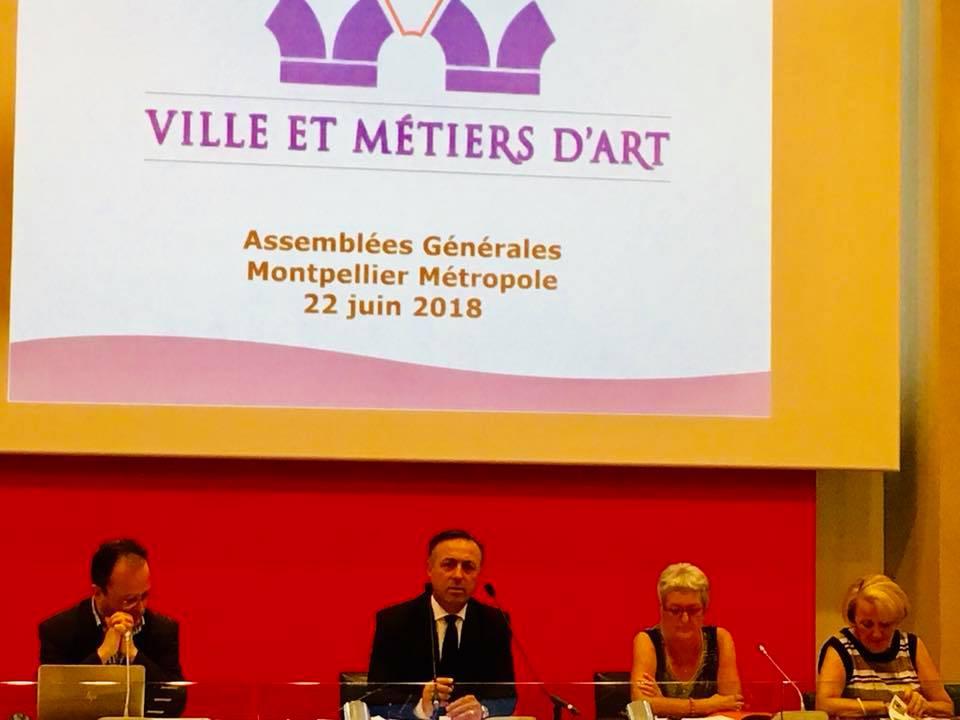 Philippe Huppé (centre) · Christophe Poissonnier (gauche) · Jacqueline Laroche & Brigitte Roussel Galiana (droite)