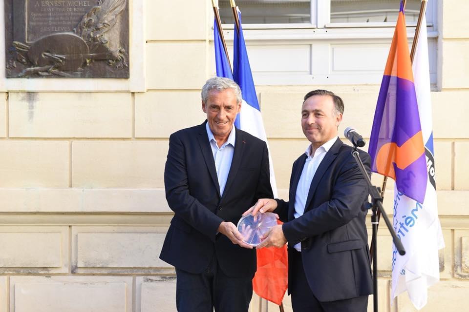 Remise du label Ville et Métiers d'Art à Philippe Saurel, Président de Montpellier Méditerranée Métropole