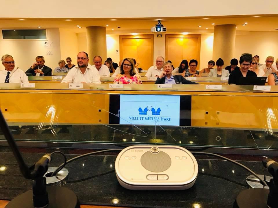 Une partie de l'auditoire représentant plusieurs villes membres de VMA