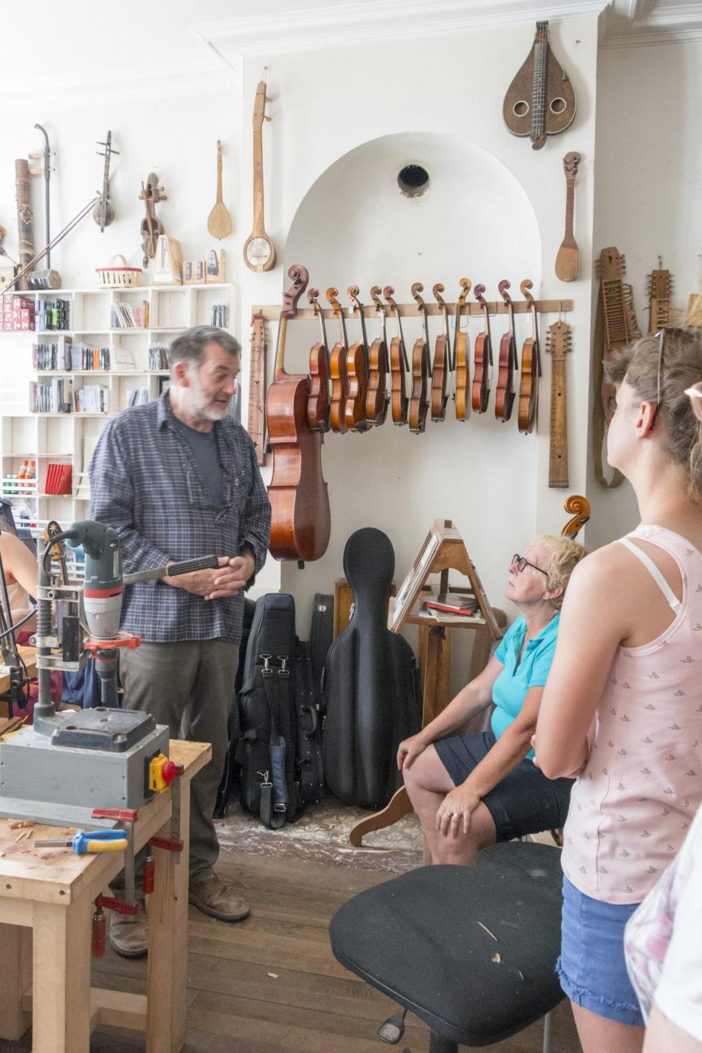 Atelier de luthier Ludivine Leduc