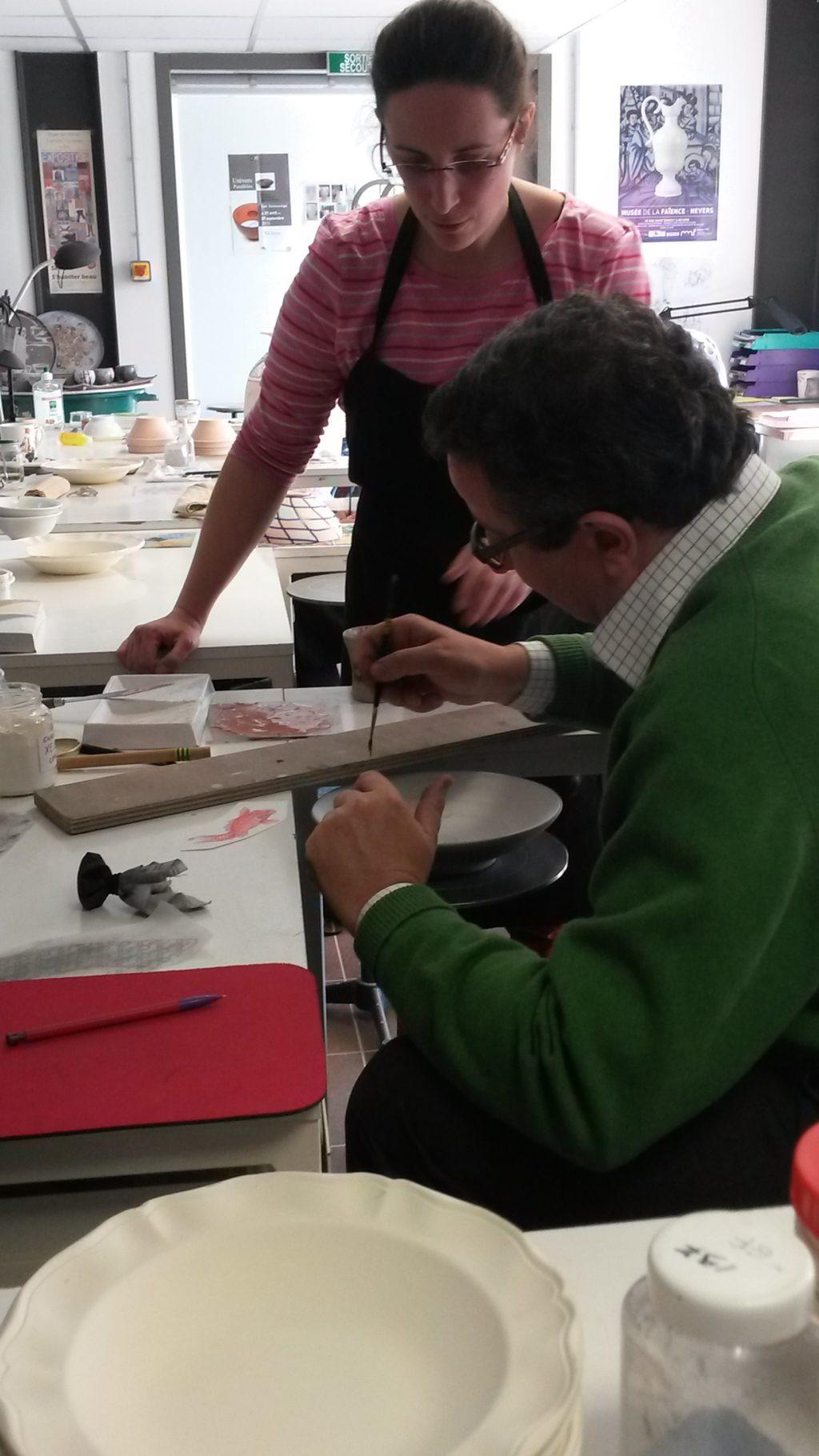 EMA CNIFOP · Centre international de formation aux métiers d'art et de la céramique