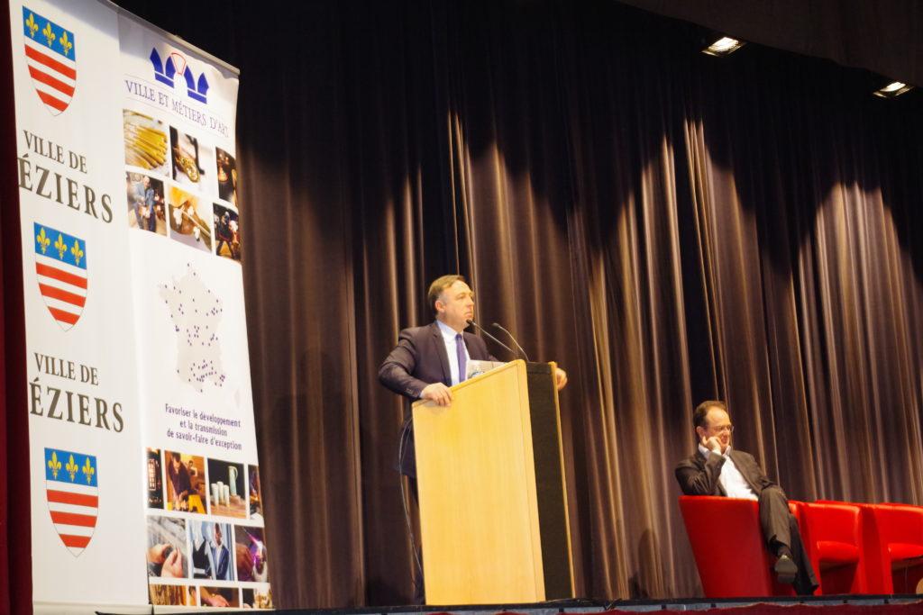 Philippe Huppé à la Tribune et Christophe Poissonnier