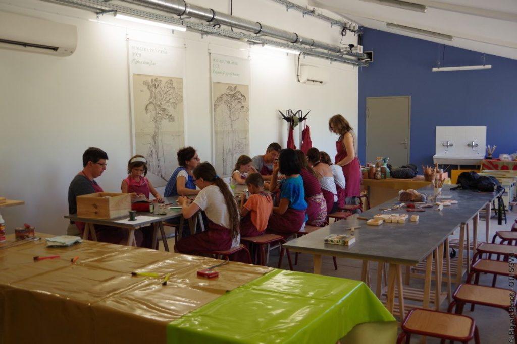 Atelier pédagogique de céramique · Argileum la maison de la poterie