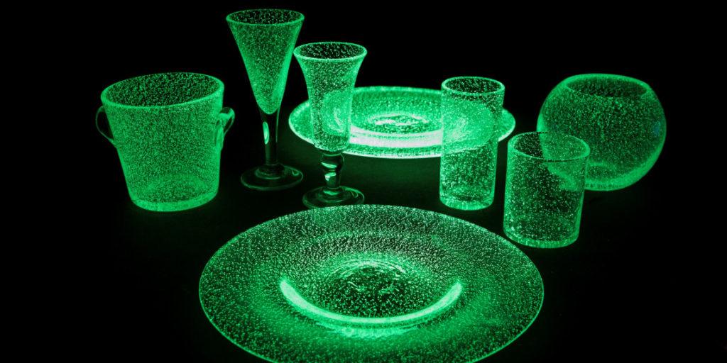 Découverte du verre bullé · Verrerie de Biot