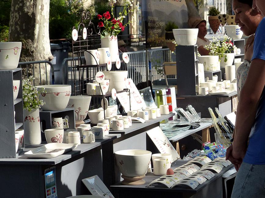 Festival d'Art et de Feu · Exposition de céramiques