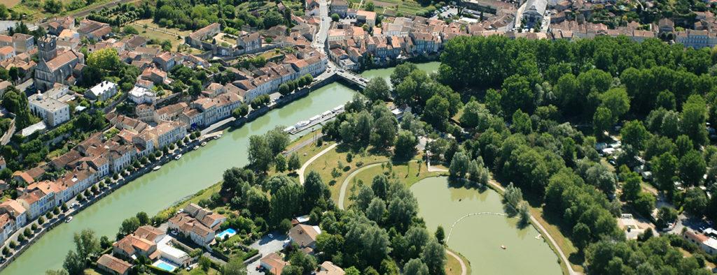 Ile de la Grenouillette en Charente-Maritime © Mairie de Saint Savinien sur Charente