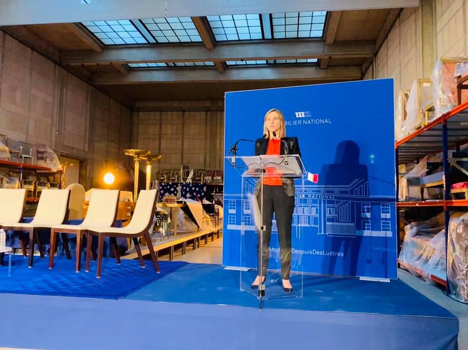 La Secrétaire d'Etat Agnès Pannier-Runacher