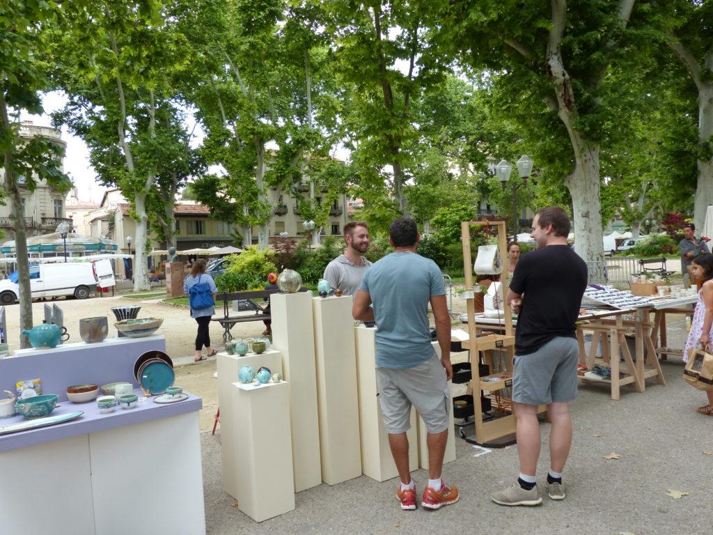 Festival d'Art et de Feu sur l'Esplanade Charles de Gaulle à Montpellier