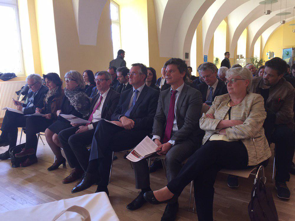 Auditoire lors de la présentation du Rapport France Métiers d'Excellence
