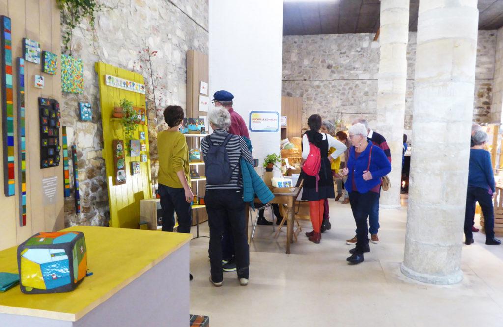 Salon Rue des Métiers d'Art à Nontron © PEMA