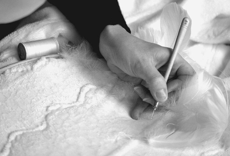 Initiation à la broderie perlée © Claire Kientzi
