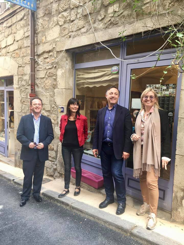 Christophe Poissonnier, Sylvie Van haecken, Phillipe Huppé, Natalie Tourre