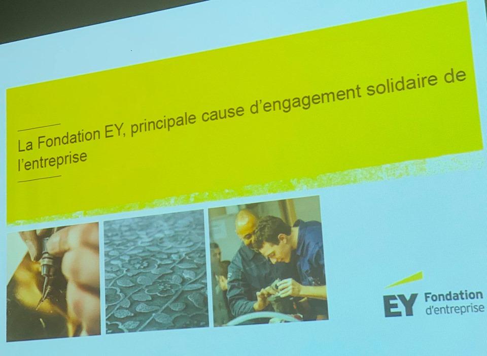 Présentation de la Fondation d'entreprise Ernst&Young