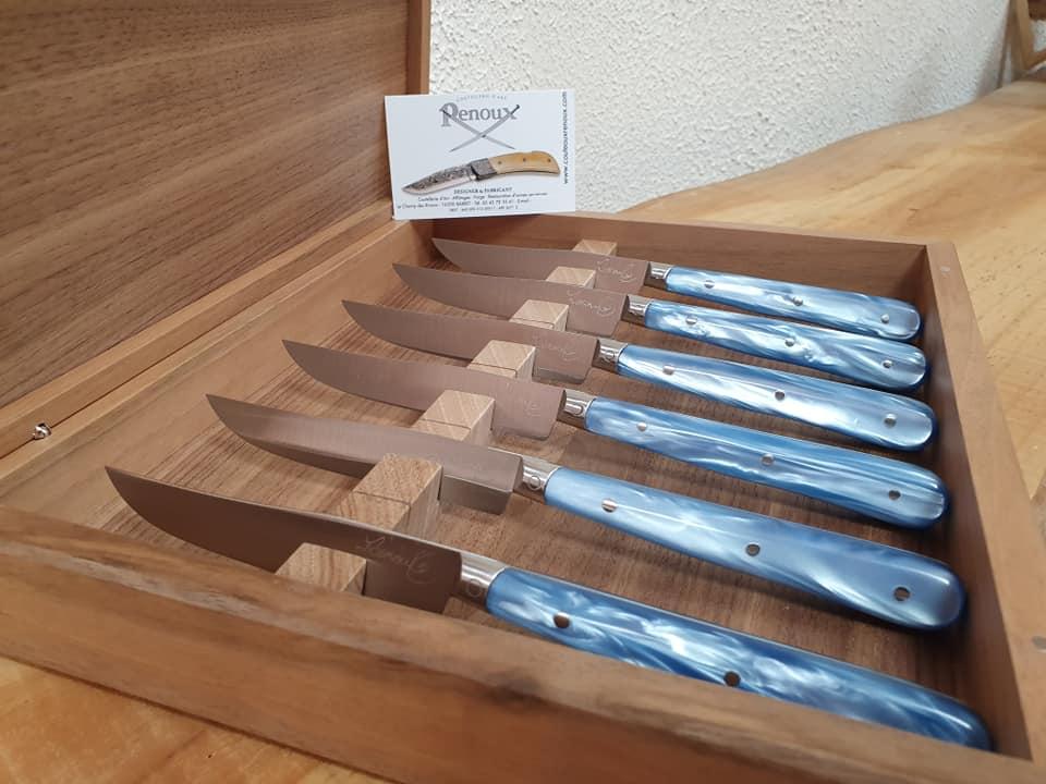 Couteaux de Pascal Renoux · MOF © artisanalementvôtre