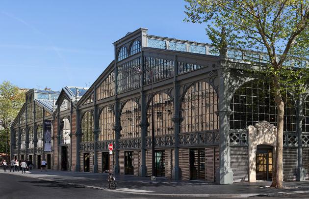 Le Carreau du Temple à Paris © Fernando-Javier Urquijo