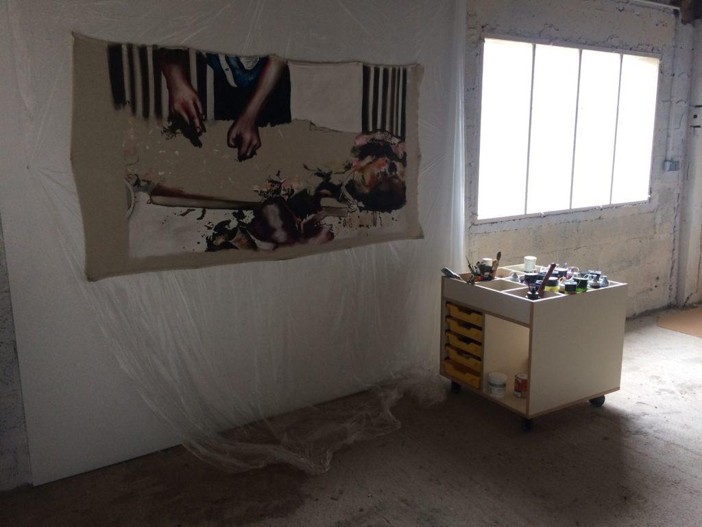 Atelier spacieux et lumineux