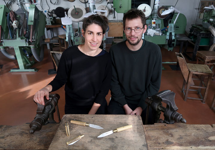 Manon Leblanc & Romain Diroux © Coutellerie nontronnaise