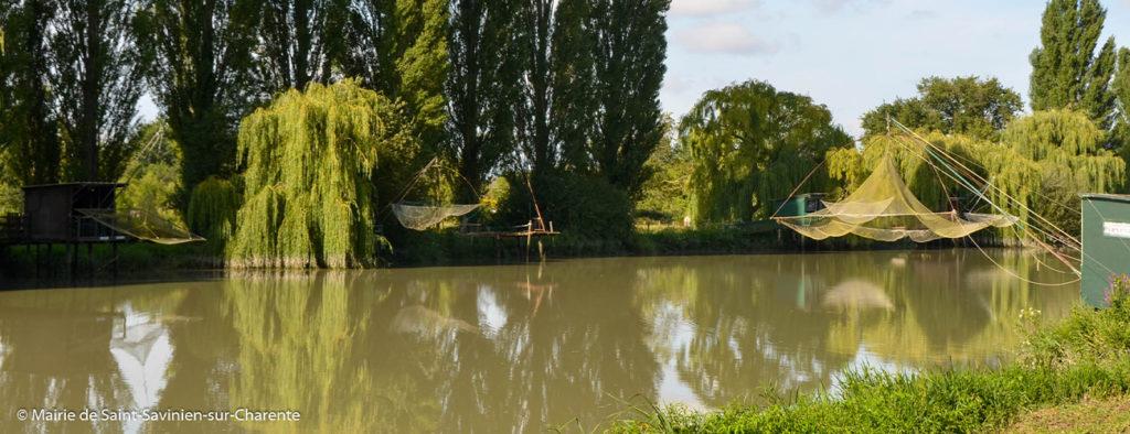 Allée des Soupirs en bordure du fleuve Charente