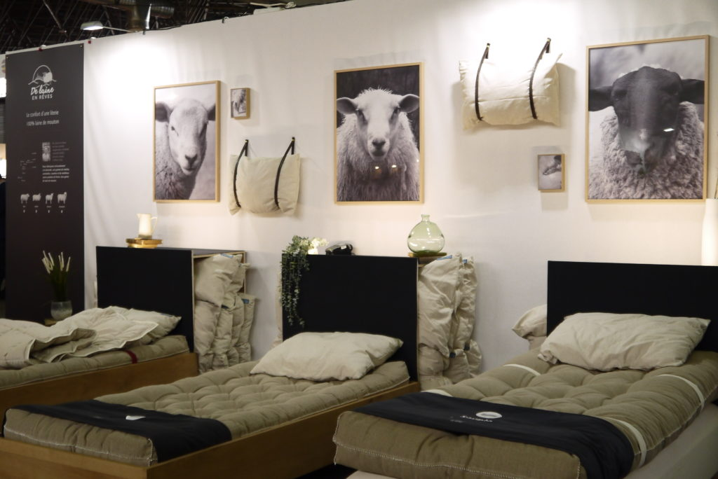 """Entreprise lorraine """" De Laine en Rêves """" qui redonne à la laine de mouton sa place dans la literie haut de gamme"""
