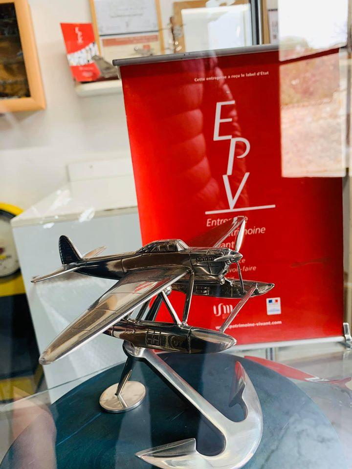 L'entreprise de maquettes en étain de Serge Leibovitz, labélisée EPV