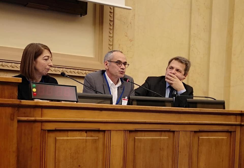Nadine Mirc (Imara), Denis Garcia (Cerfav), Guy Georjon (Compagnons du Devoir)