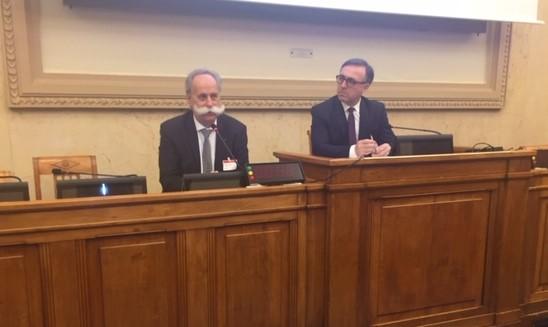 Bernard Stalter, Président de CMA France et Philippe Huppé
