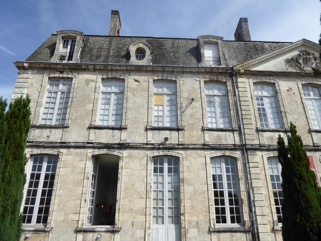 Château de Nontron - façade boutique © PEMA