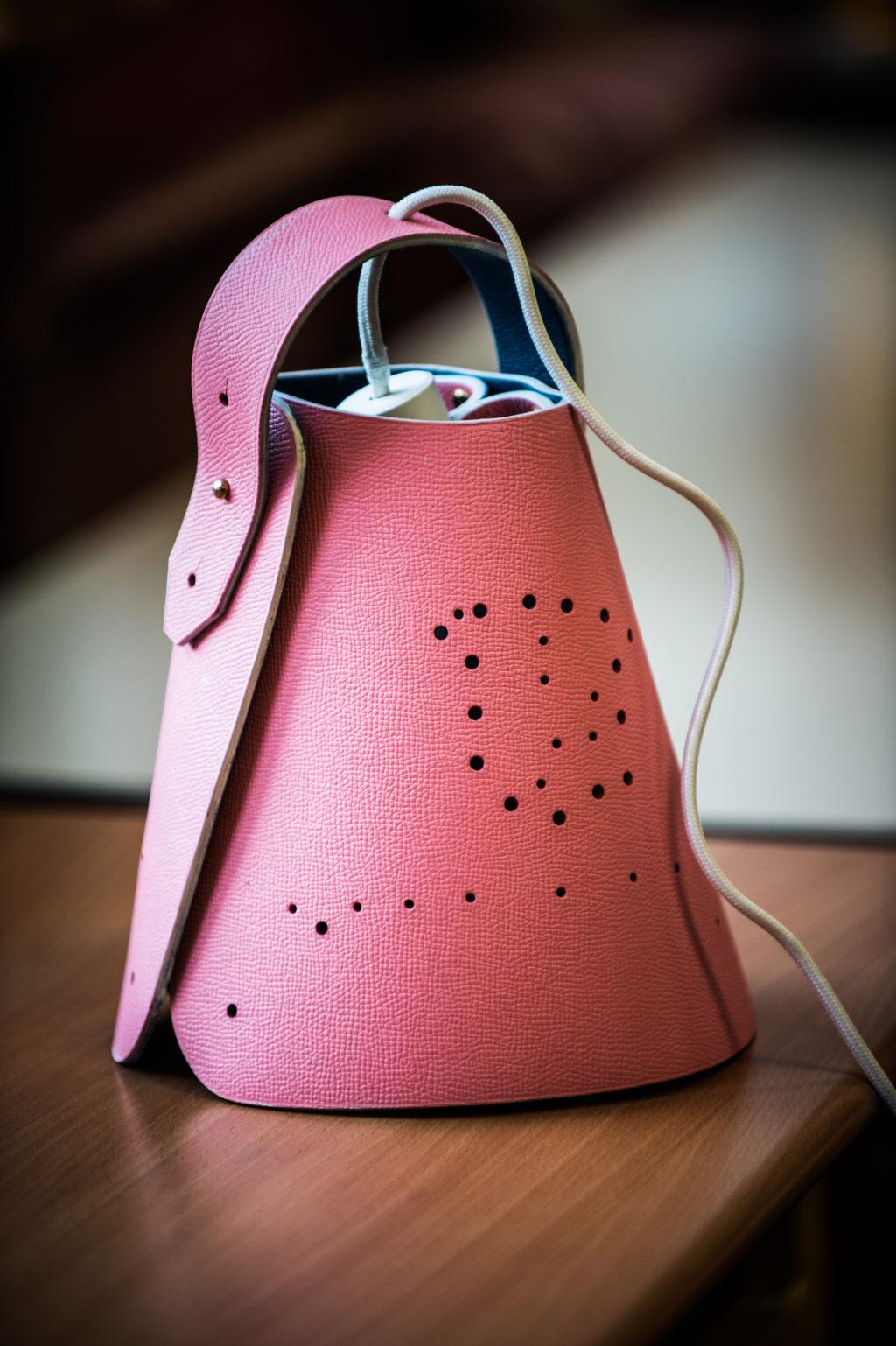 La lampe que vont réaliser les élèves de l'école primaire Anatole France © Benoît Teillet / Fondation d'entreprise Hermès