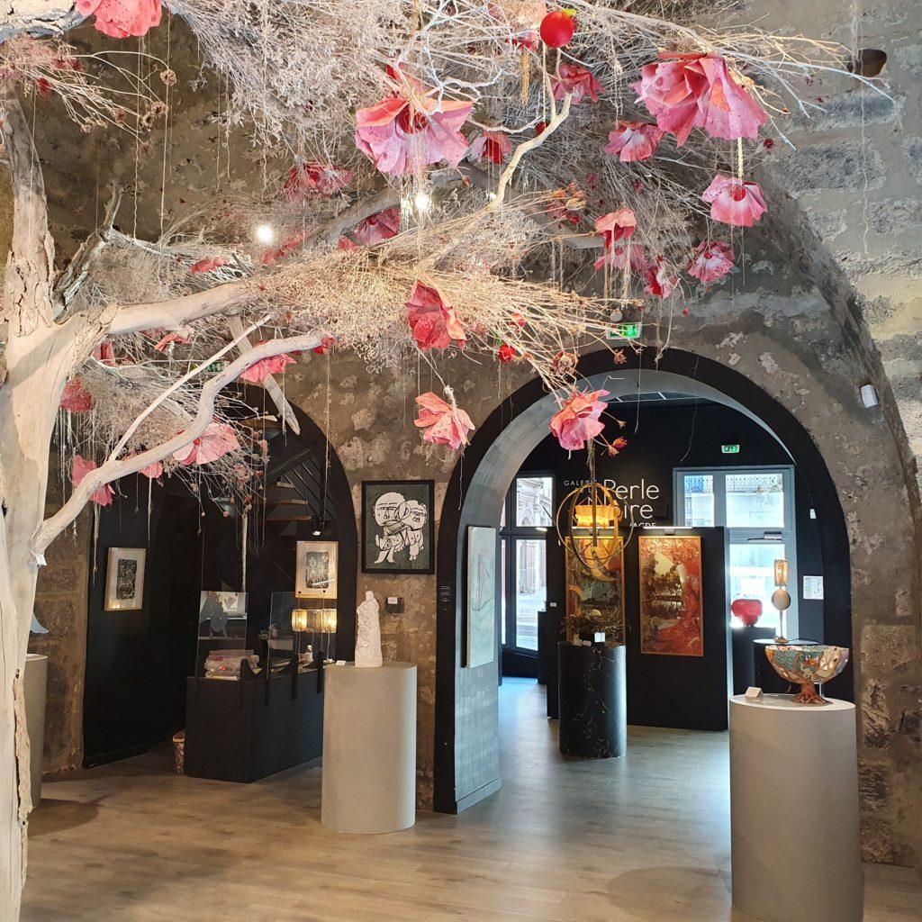 Exposition Pomme d'Amour à la galerie de la Perle Noire à Agde