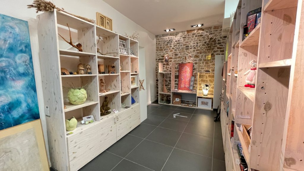 Boutique à la Galerie de L'Olivier · Ollioules © Catherine Buisson