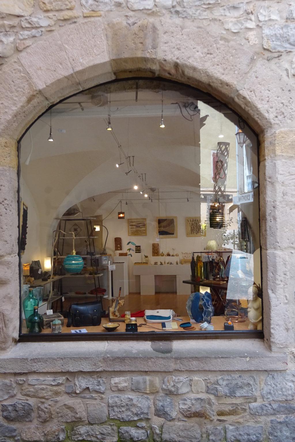 Boutique à l'Espace Métiers d'Art · Millau