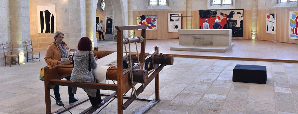 Exposition de tapisseries Le Corbusier © J. Damase